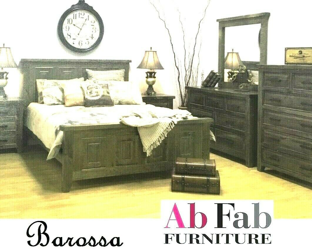buy online 90779 cfddd BAROSSA KING SIZE TIMBER BED FRAME ONLY