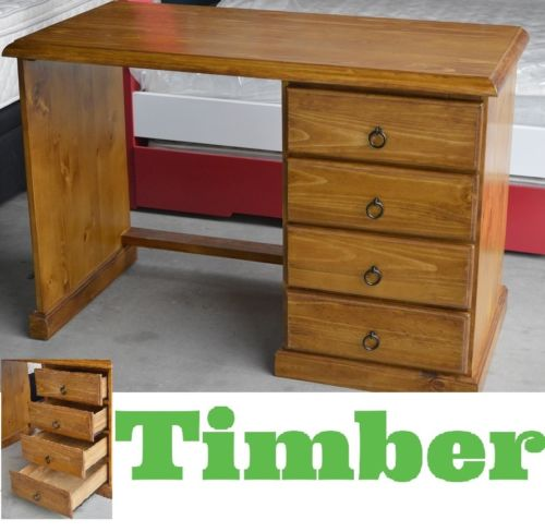Banksia Assembled Timber Student Office Desk 117cm In